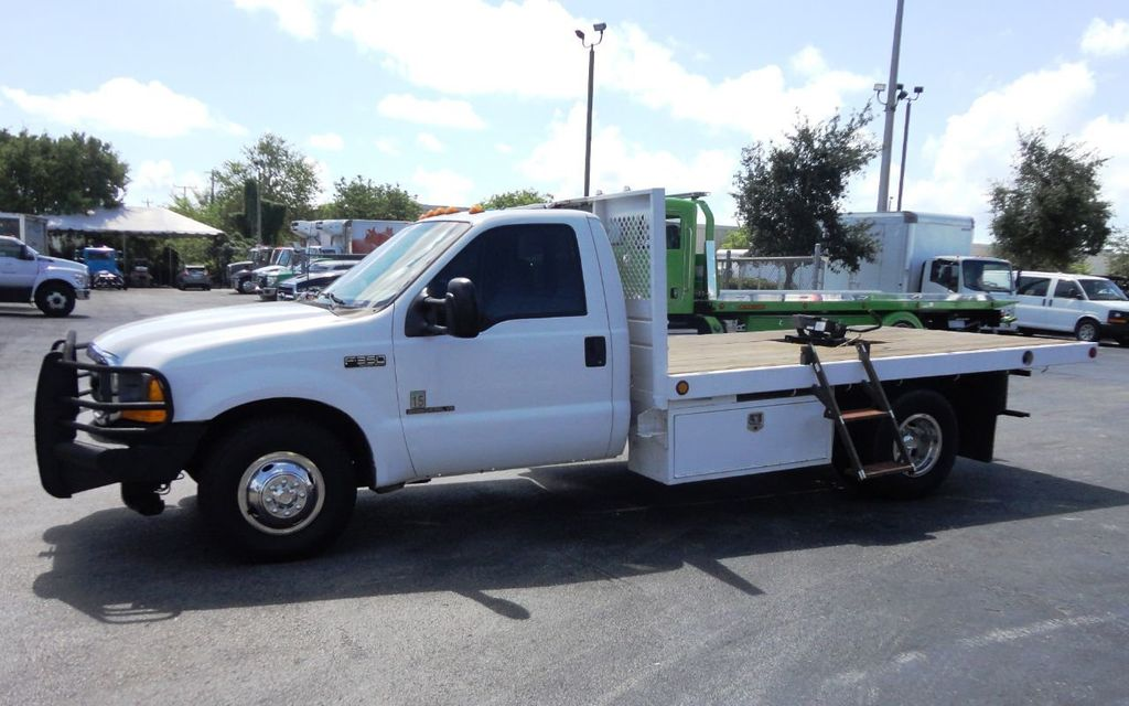 2001 Ford F350 7.3L DIESEL . 12FT FLATBED - 18965867 - 8