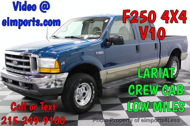 Used F 250 Super Duty >> 2001 Used Ford Super Duty F 250 F 250 Super Duty Lariat V10
