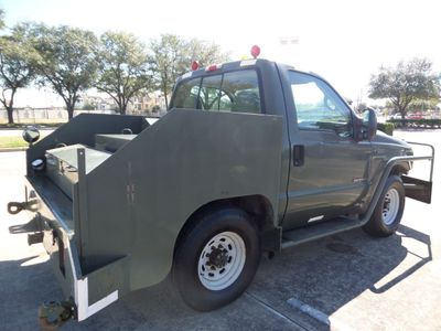 2001 Ford Super Duty F-350 AIRCRAFT PUSHBACK TRACTOR - Click to see full-size photo viewer