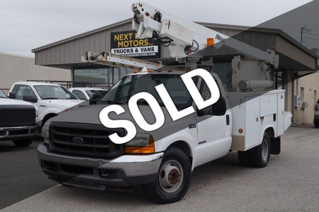2001 Ford Super Duty F-350 DRW Cab-Chassis 2001 FORD F-350 SUPER DUTY LIFTALL BUCKET TRUCK - 16861431 - 0