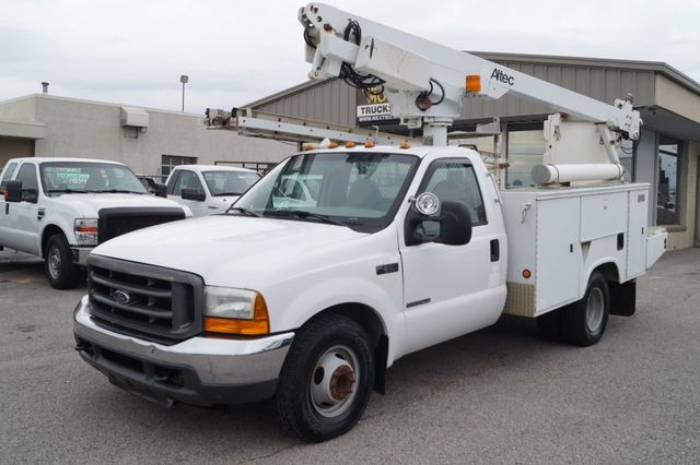 2001 Ford Super Duty F-350 DRW Cab-Chassis 2001 FORD F-350 SUPER DUTY LIFTALL BUCKET TRUCK - 16861431 - 2