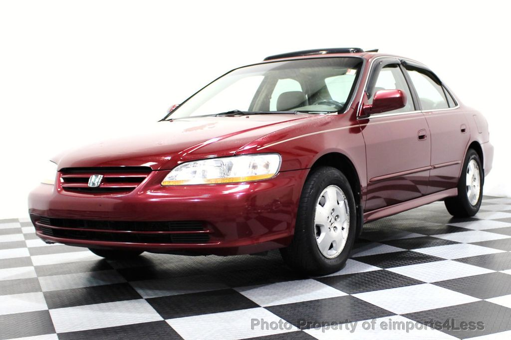 2001 used honda accord sedan ex automatic v6 w leather at. Black Bedroom Furniture Sets. Home Design Ideas
