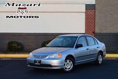 2001 Honda Civic 4dr Sedan DX Automatic