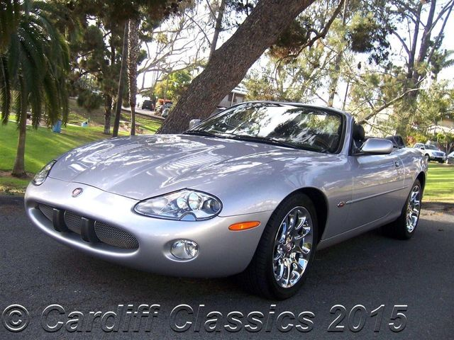 2001 Used Jaguar XKR Supercharged V8 at Cardiff Classics ...