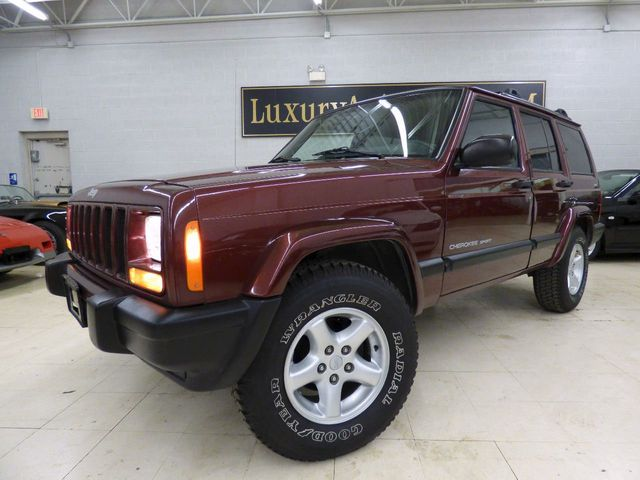 2001 used jeep cherokee 4dr sport 4wd at luxury automax serving