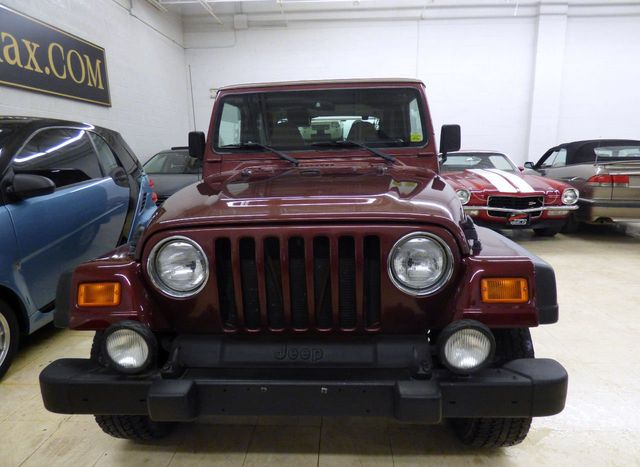 2001 Jeep Wrangler 2dr Sport - Click to see full-size photo viewer