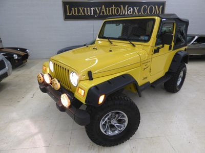 2001 Jeep Wrangler 4 inch lift kit 33 inch tires  SUV