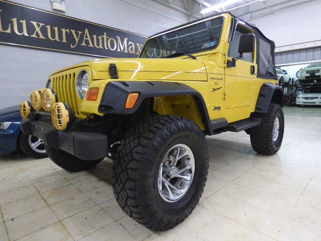 Tires For Jeep Wrangler >> 2001 Used Jeep Wrangler 4 Inch Lift Kit 33 Inch Tires At Luxury