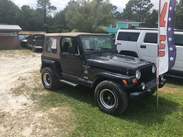 Captivating 2001 Jeep Wrangler Sahara SUV   1J4FA59S61P300962   0