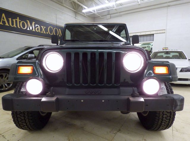 2001 Jeep Wrangler Sport - Click to see full-size photo viewer