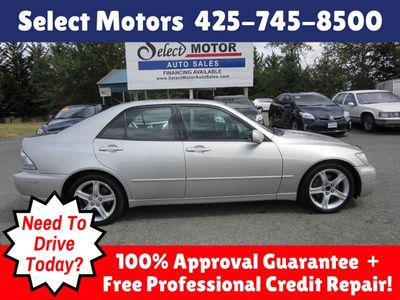 2001 Lexus IS 300 - JTHBD182010002338