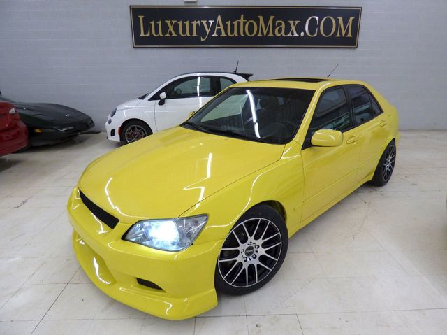 2001 Lexus IS 300 FIBERGLASS CUSTOM AERO KIT 4 NEW WHEELS AND TIRES NEW EXHAUST - Click to see full-size photo viewer