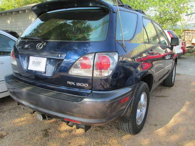 2001 Lexus RX 300 4dr SUV 4WD SUV   JTJHF10U410195254   3
