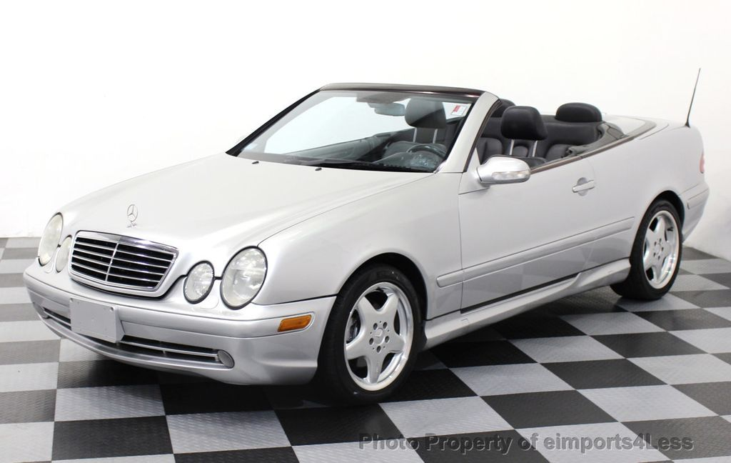 2001 used mercedes benz clk430 v8 amg sport convertible at eimports4less serving doylestown. Black Bedroom Furniture Sets. Home Design Ideas