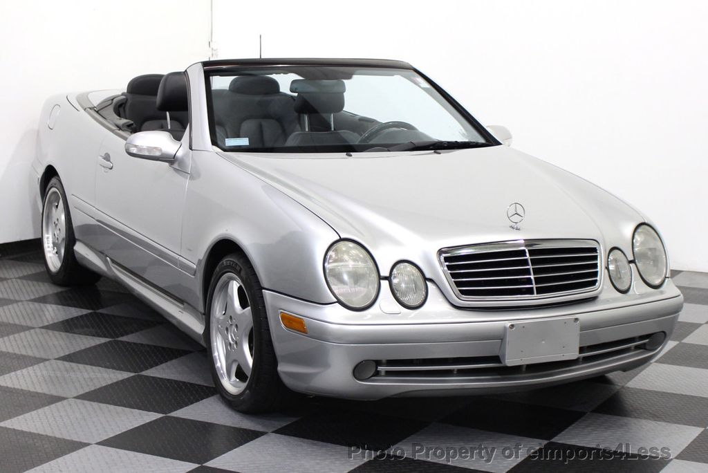 2001 used mercedes benz clk430 v8 amg sport convertible at for Mercedes benz v8 amg