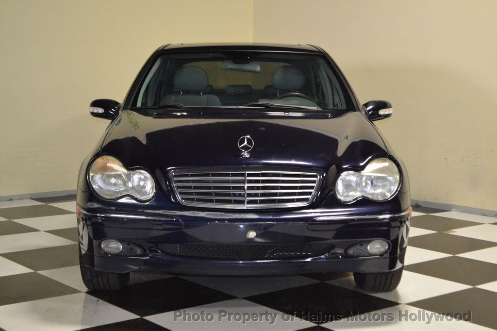 2001 used mercedes benz c class c320 4dr sedan 3 2l at haims motors serving fort lauderdale. Black Bedroom Furniture Sets. Home Design Ideas