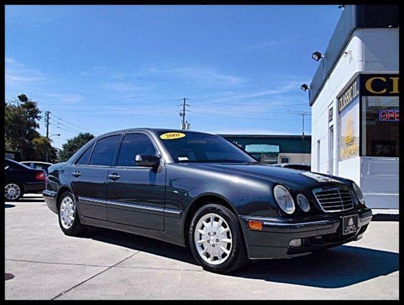 2001 Used Mercedes-Benz E-Class E320 4dr Sdn 3 2L at Classic II Auto  Serving Maitland, FL, IID 6201726