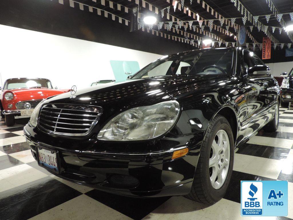 2001 Mercedes Benz S Class S500 4dr Sedan 5.0L   16810281   0