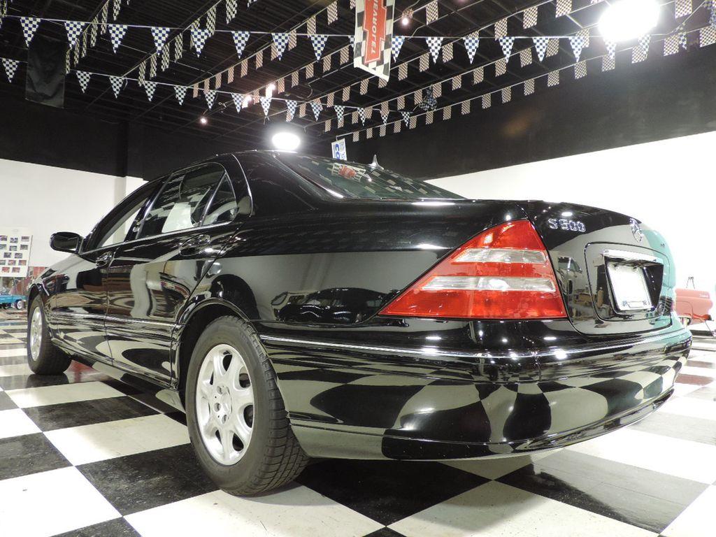 2001 Mercedes-Benz S-Class S500 4dr Sedan 5.0L - 16810281 - 12