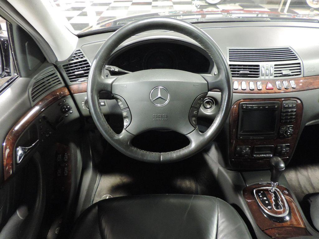 2001 used mercedes benz s class s500 4dr sedan 5 0l at. Black Bedroom Furniture Sets. Home Design Ideas