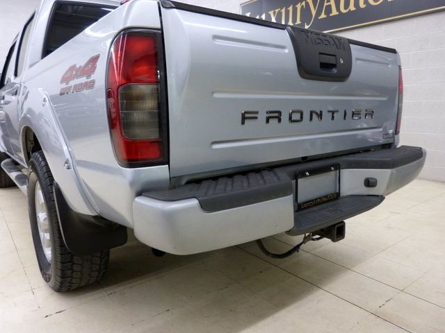 2001 Nissan Frontier 4WD SE Crew Cab V6 Automatic   Click To See Full Size