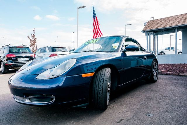 2001 Porsche 911 Carrera Cabriolet 16812217 2