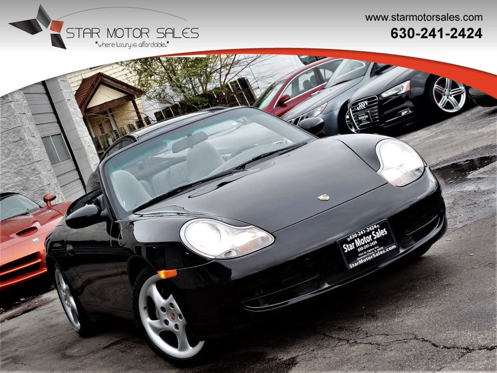 2001 Porsche 911 Carrera 2dr Carrera 4 Cabriolet 6-Speed Manual - 18283973 - 0