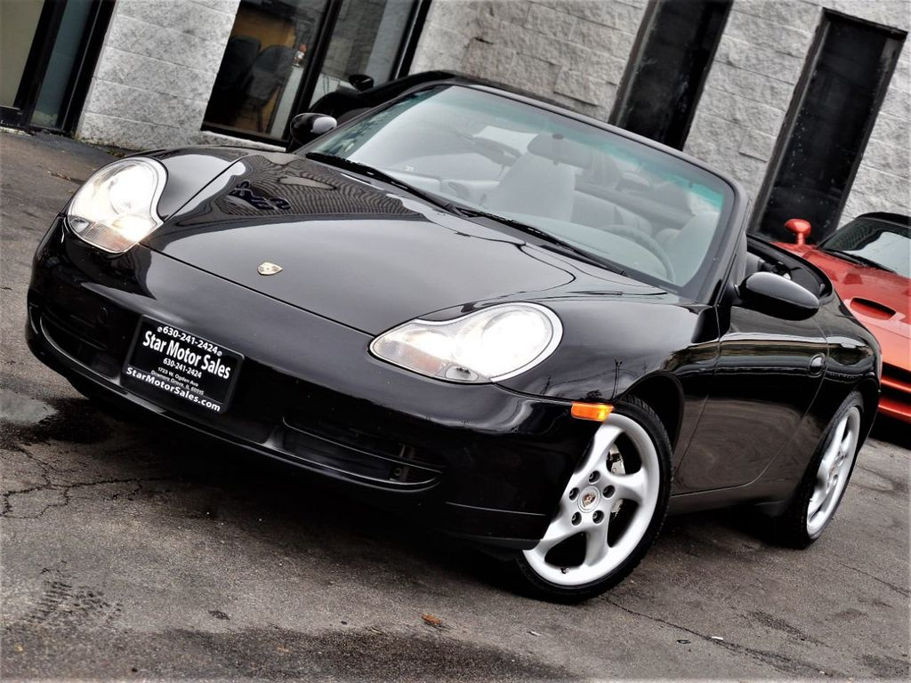 2001 Porsche 911 Carrera 2dr Carrera 4 Cabriolet 6-Speed Manual - 18283973 - 16