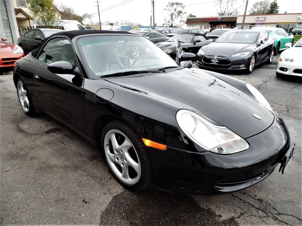 2001 Porsche 911 Carrera 2dr Carrera 4 Cabriolet 6-Speed Manual - 18283973 - 21
