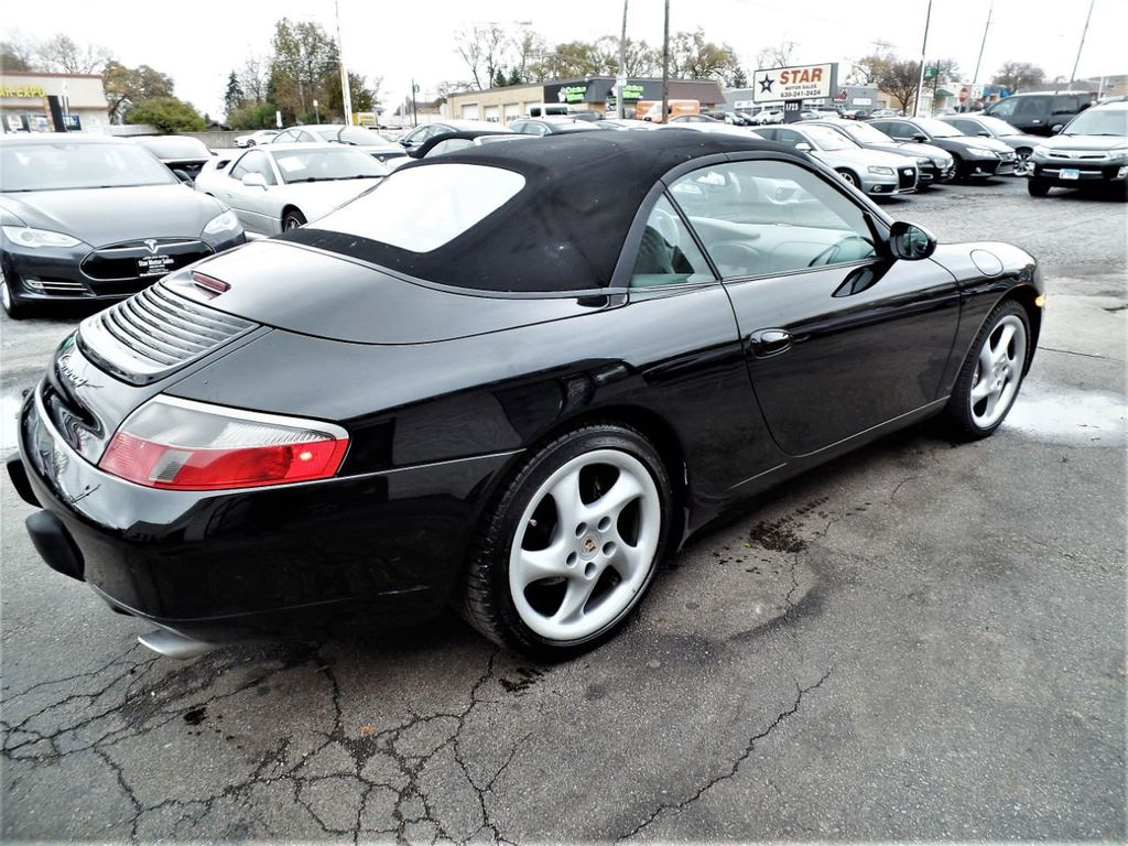 2001 Porsche 911 Carrera 2dr Carrera 4 Cabriolet 6-Speed Manual - 18283973 - 23