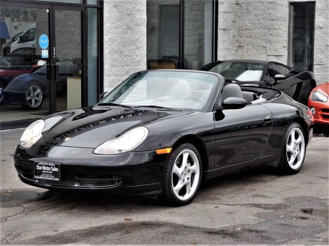 2001 Porsche 911 Carrera 2dr 4 Cabriolet 6 Sd Manual Click To See