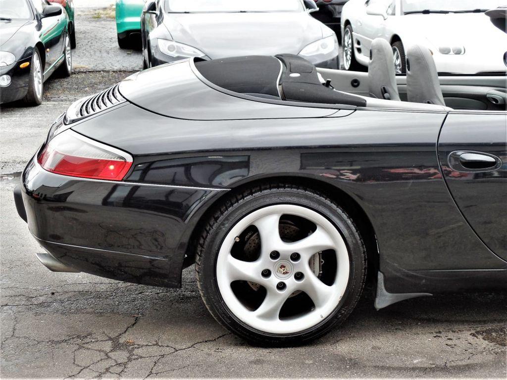 2001 Porsche 911 Carrera 2dr Carrera 4 Cabriolet 6-Speed Manual - 18283973 - 7
