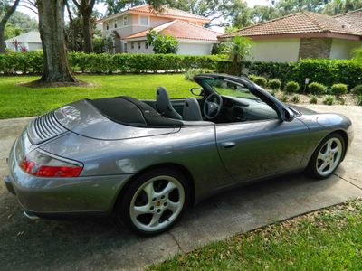 2001 Porsche 911 Carrera 2dr Carrera Cabriolet Tiptronic - Click to see full-size photo viewer