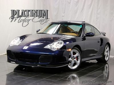 2001 Porsche 911 Carrera 2dr Carrera Turbo Tiptronic Coupe