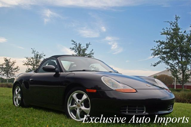 2001 Porsche Boxster 2dr Roadster 5-Spd Manual - Click to see full-size photo viewer