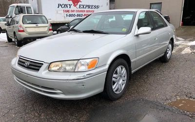 2001 Toyota Camry 4dr Sedan LE Automatic - Click to see full-size photo viewer