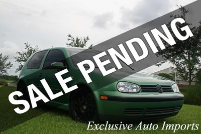 2001 Volkswagen GTI 3 Door Hatchback GLX VR6 2.8L 6-CYL Manual