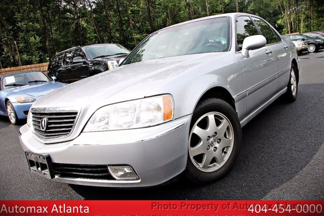 2002 Acura RL NAVIGATION  - Click to see full-size photo viewer