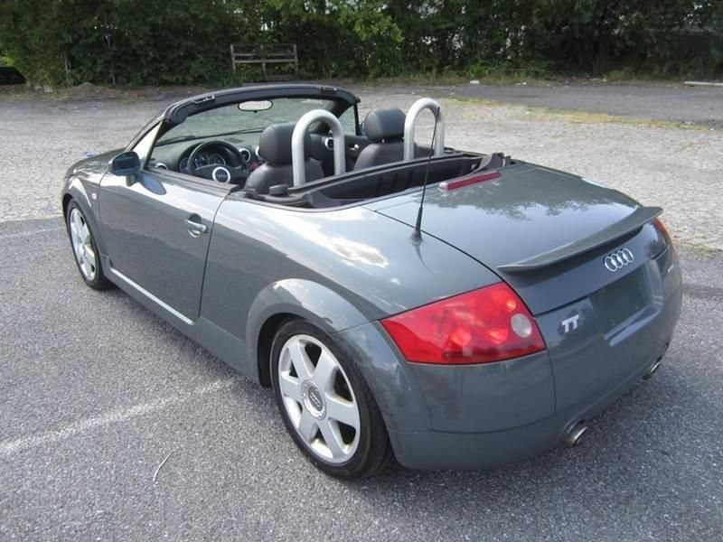 2002 Used Audi Tt Roadster Convertible Quattro 6 Spd At