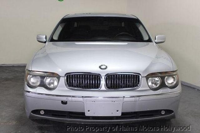 2002 Used Bmw 7 Series 745li At Haims Motors Serving Fort Lauderdale
