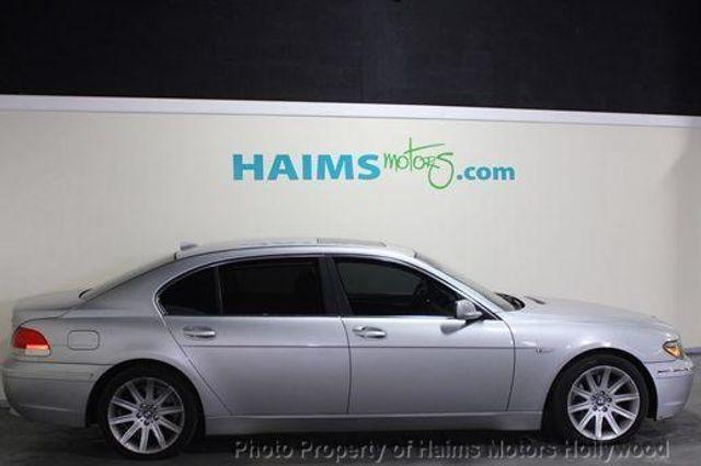 2002 Used BMW 7 Series 745Li at Haims Motors Serving Fort Lauderdale ...