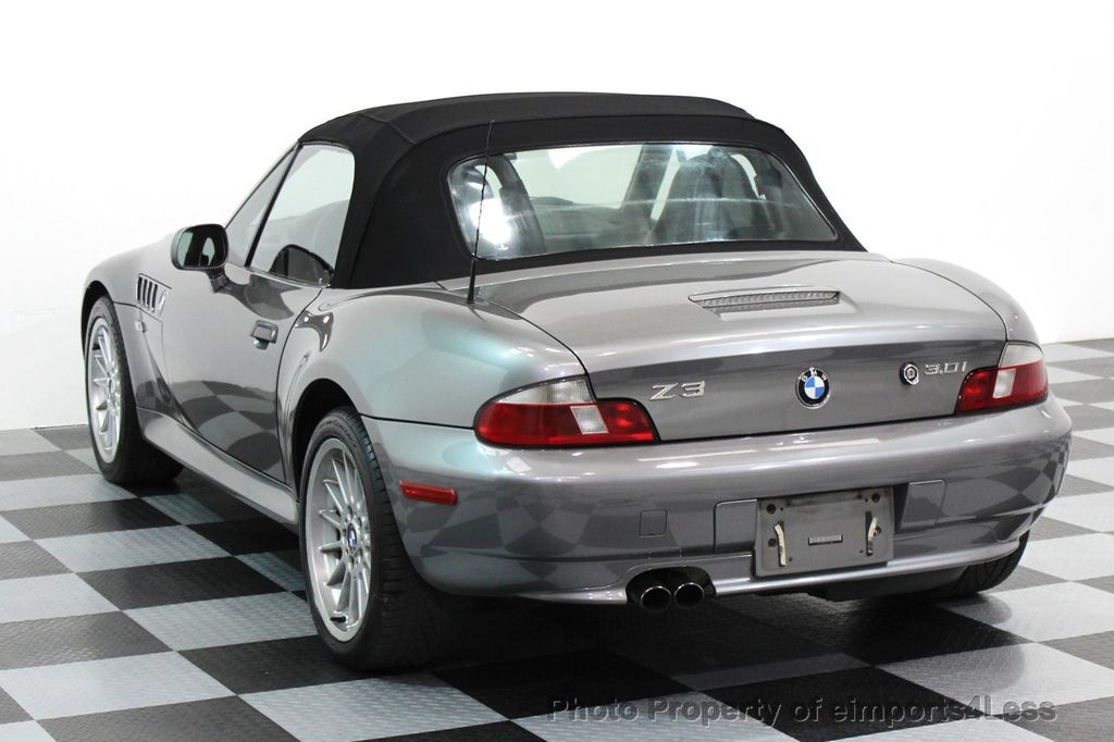 2002 Used Bmw Z3 Z3 3 0i Roadster At Eimports4less Serving