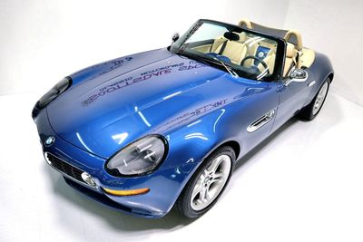 2002 BMW Z8 Roadster * ONLY 9K Miles...Topaz Blue! - Click to see full-size photo viewer