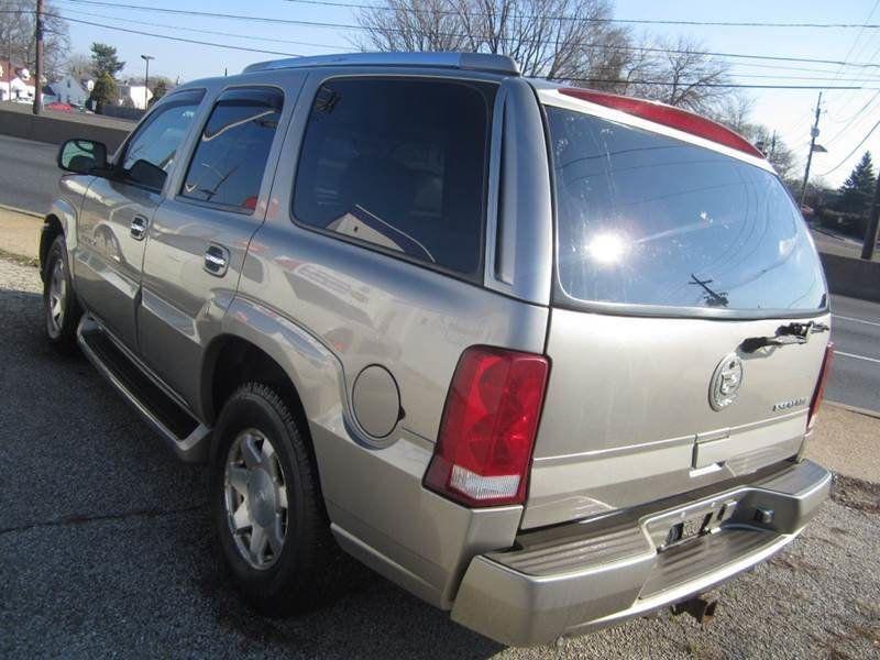 2002 Used Cadillac Escalade AWD/ 4X4 / 6.0L V8 / 3RD ROW at Contact
