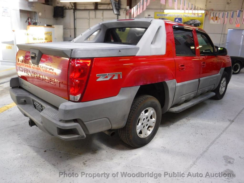 2002 Chevrolet Avalanche 1500 5dr Crew Cab 130 Wb 4wd 17417538 4