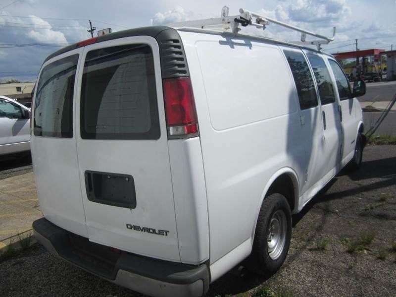2002 Used Chevrolet Express Cargo Van Cargo Van At Contact Us Serving Cherry Hill  Nj  Iid 15057751