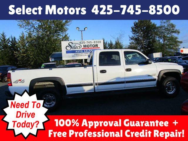 2002 Chevrolet Silverado 2500HD LS 4dr Crew Cab 4WD LB Truck    1GCHK23192F158639   0