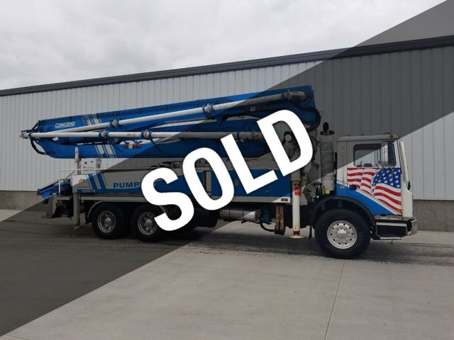 2002 Used Concord 36m Mack Chassis at BuyConcreteEquipment com Serving  North America, TX, IID 18296220