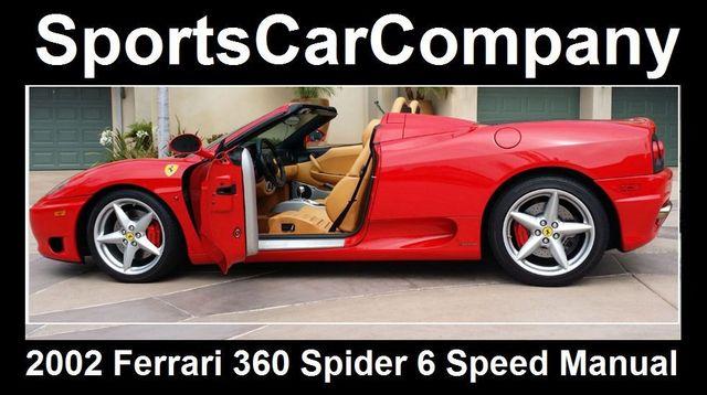 2002 Ferrari 360 2dr Convertible Spider - 16459870 - 10