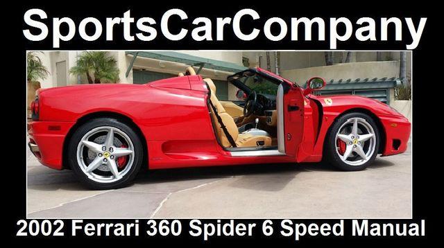 2002 Ferrari 360 2dr Convertible Spider - 16459870 - 11